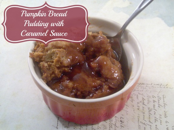 Pumpkin Bread Pudding With Caramel Sauce: 10 Yummy Thanksgiving Dessert Ideas | Cheap Is The New Classy