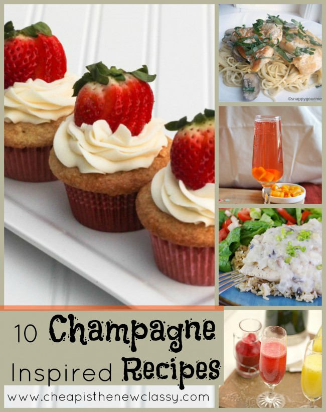 Champagne Inspired Recipes Perfect For Valentine's Day