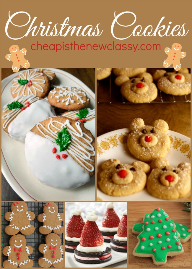 10 Christmas Cookies Recipes For The Holidays | Cheap Is The New Classy
