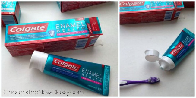 Protect the enamel on your teeth with new Colgate Enamel Health Toothpaste