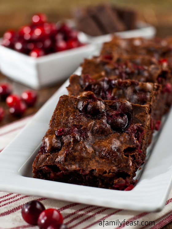 Cranberry Brownies: Cranberry Recipes: 10 Tasty Recipes With Cranberries | Cheap Is The New Classy