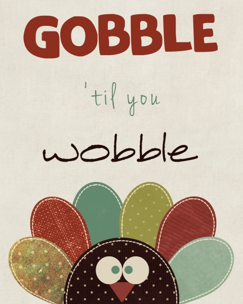 Gobble 'Til You Wobble: 10 Kid Friendly Thanksgiving Activities | Cheap Is The New Classy