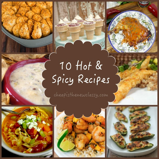 hot spicy recipes