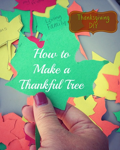 How To Make A Thankful Tree: 10 Kid Friendly Thanksgiving Activities | Cheap Is The New Classy