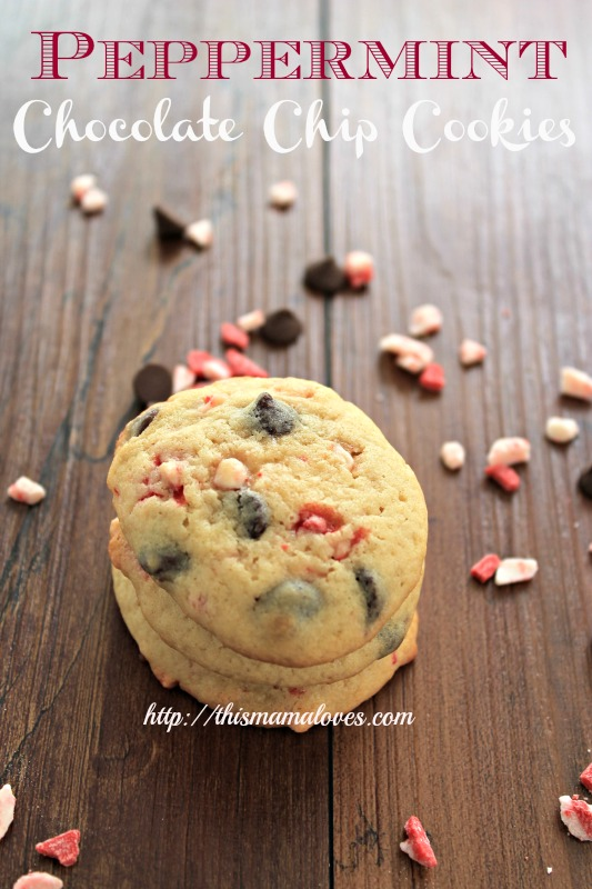 Peppermint Chocolate Chip Cookies: 10 Christmas Cookies Recipes For The Holidays | Cheap Is The New Classy