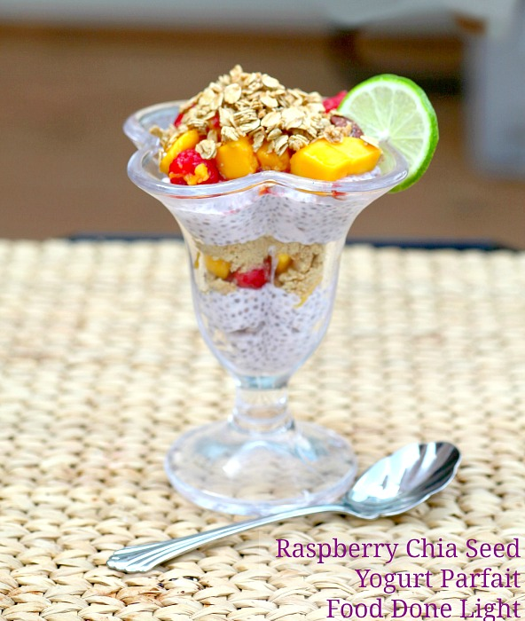 Raspberry Chia Seed Yogurt Parfait: 10 Perfect Parfait Recipes For National Parfait Day | Cheap Is The New Classy
