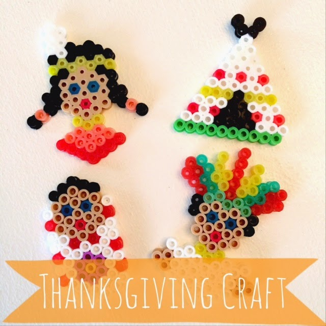 Thanksgiving Busy Beads: 10 Kid Friendly Thanksgiving Activities | Cheap Is The New Classy