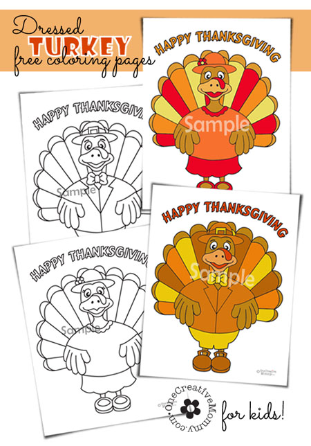 Thanksgiving Coloring Pages: 10 Kid Friendly Thanksgiving Activities | Cheap Is The New Classy