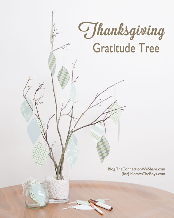 Thanksgiving Gratitude Tree: 10 Fall Decorating Ideas For Tables And Mantels | Cheap Is The New Classy
