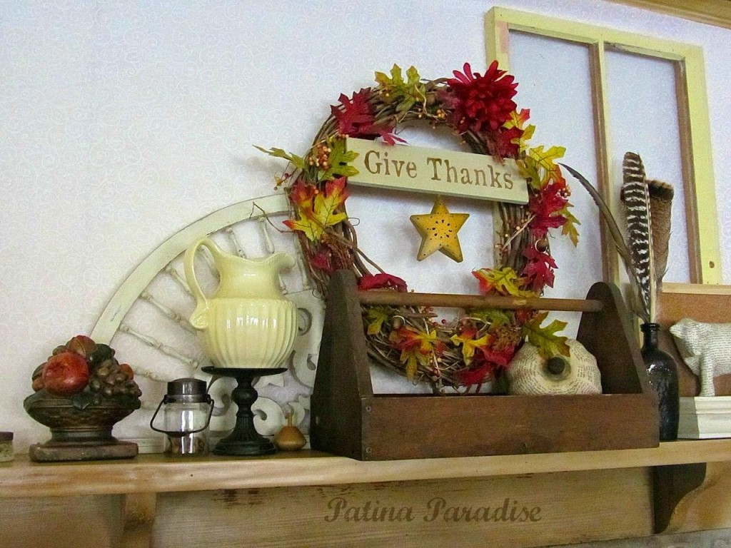 Thanksgiving Mantel Decorating: 10 Fall Decorating Ideas For Tables And Mantels | Cheap Is The New Classy