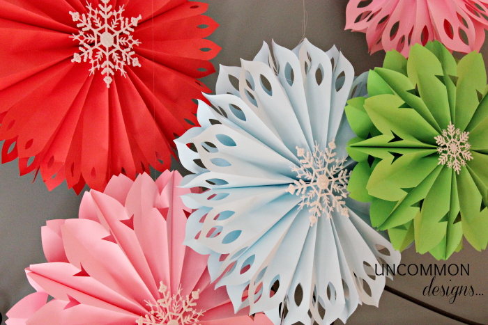 How To Make Paper Snowflakes: 10 Snowflake Crafts and Ornaments | Cheap Is The New Classy