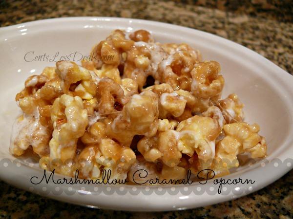 Marshmallow-Caramel-Popcorn