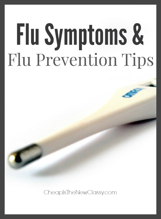 Flu Symptoms And Tips To Avoid Getting The Flu