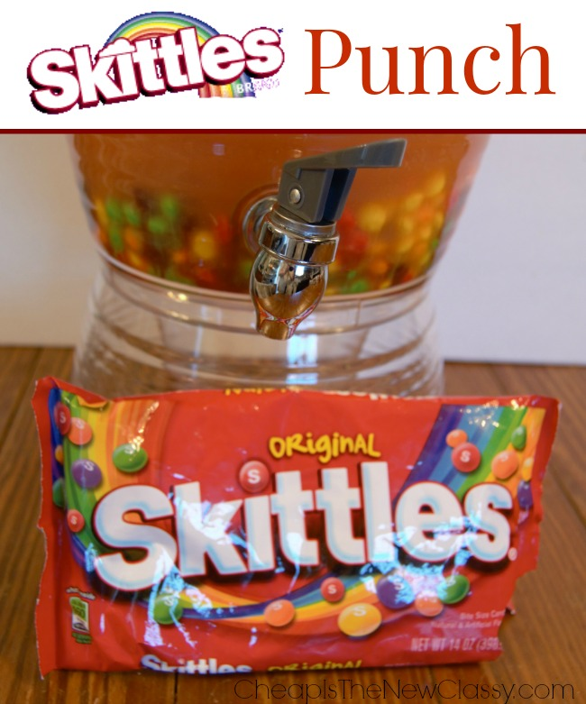 Gameday Recipes: Skittles Punch Recipe