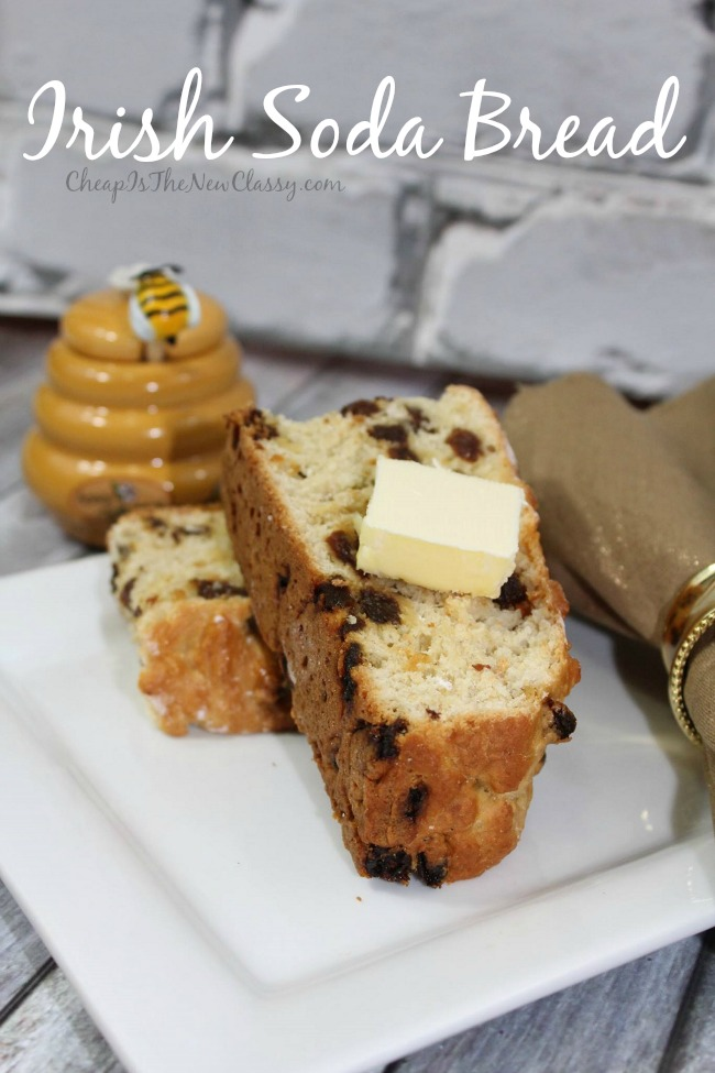 If you are looking for a tasty, traditional Irish recipes, try out this Irish Soda Bread Recipe which can be made with raisins or cranberries.