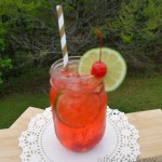 Easy and Refreshing Cherry Limeade Recipe #cbias #sponsored #PourMoreFun