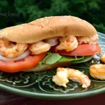 Grilled Shrimp Po Boy w/Lighter Remoulade Sauce Recipe