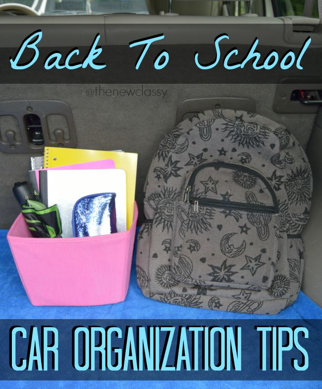 Back To School Car Care Tips #cbias #ad #1stImpressionsCount