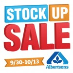 Save Big At Albertsons Stock Up Sale 9/30-10/13 #AStockUpSale #Albertsons #cbias #ad
