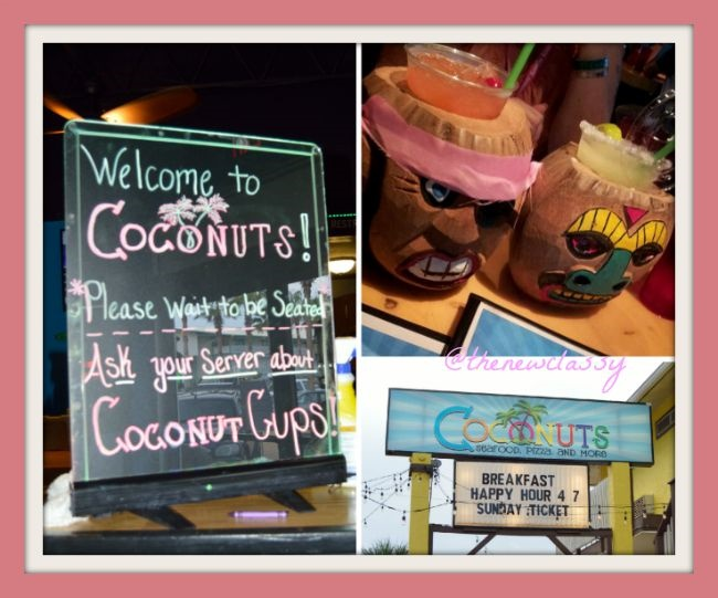 Coconuts Seafood Pizza and More in Panama City Beach Fl {sponsored}