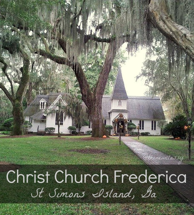 A visit to Christ Church Frederica church and cemetery on St Simons Island in Georgia.
