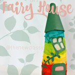 DIY Fairy House - An Upcycled Creamer Bottle Craft
