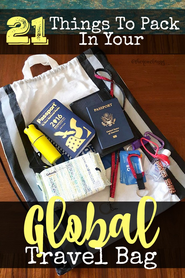 21 Things You Need In Your Global Travel Bag #cbias #ad #CleanRippleStyle