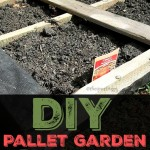 DIY Pallet Garden Tutorial #cbias #ad #LoveYourLawn