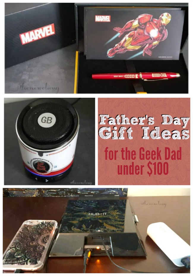 4 Father's Day Gift Ideas For The Geek Dad Under $100 #sponsored #WriteGift