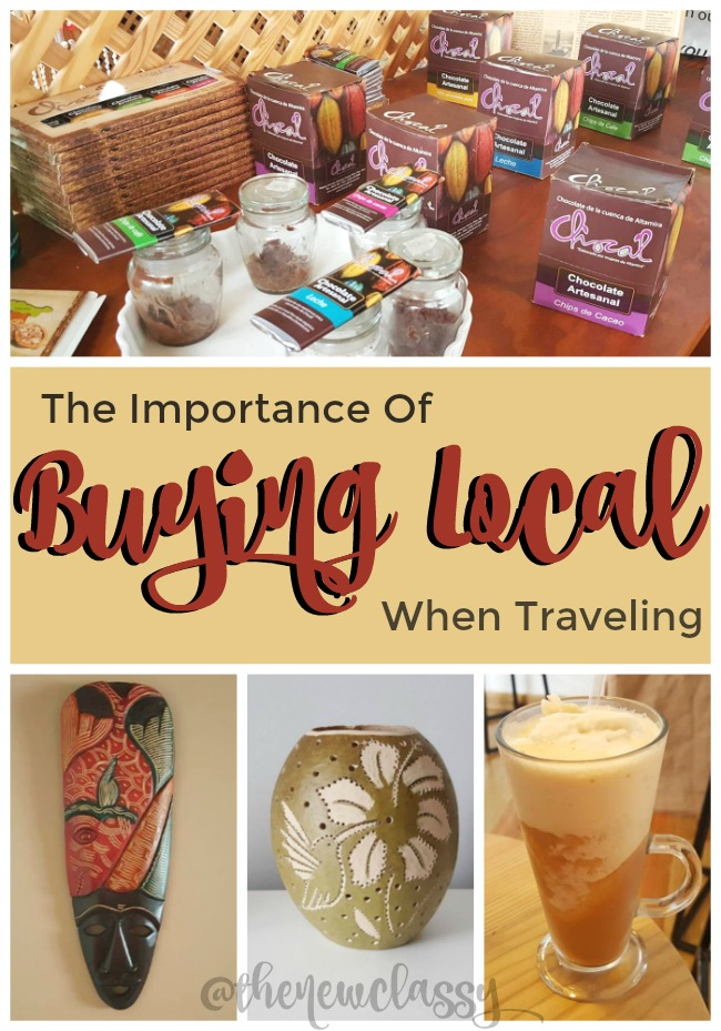 Why It's Important To Buy Local When Traveling #travel #traveldeep AD