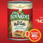 Chef Boyardee On Rollback At Walmart For 80 Cents Each #SaveOnChef AD