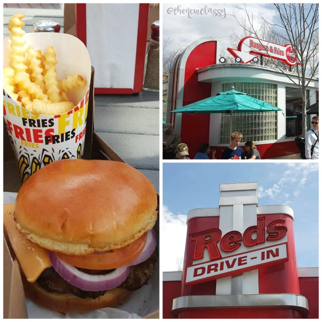 Places To Eat At Dollywood: Red's Diner #travel #Dollywood