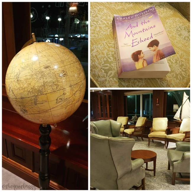 Cruise Travel: A Look Inside The Fathom Adonia Library #travel AD #TravelDeep