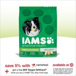 Buy 2 Bags IAMS Dry Dog Food & Get A $10 Target Gift Card