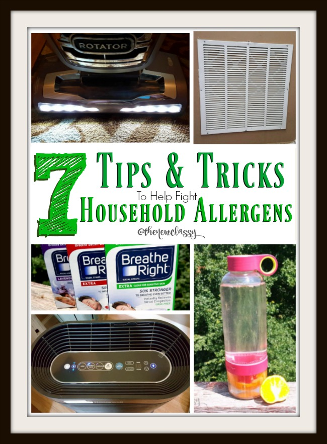 7 Tips & Tricks To Help You Combat Household Allergens #sponsored