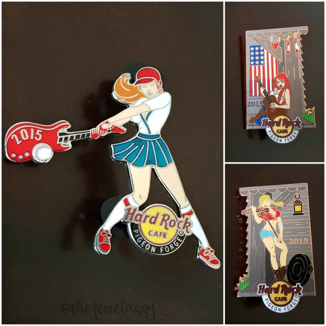 My Hard Rock Cafe Pigeon Forge Pin Haul