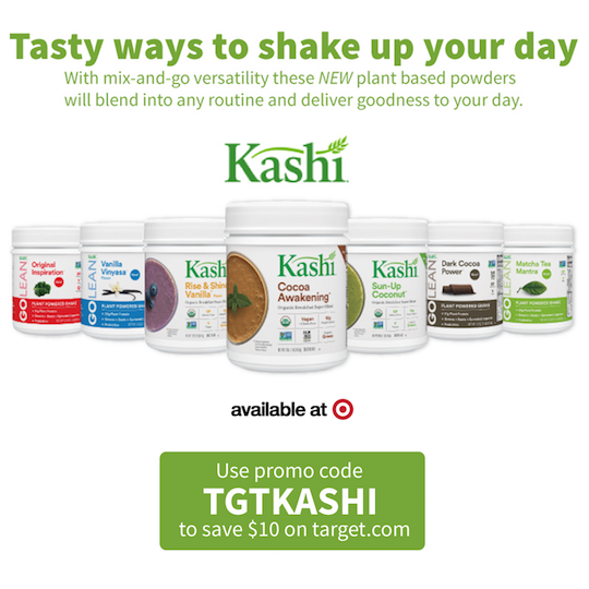 Learn How To Save $10 Off Kashi Products At Target