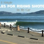 8 Simple Rules For Riding Shotgun In My Car On Road Trips