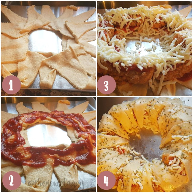 Chicken Parmesan Party Ring Recipe: Perfect For The Big Game #ad #PlayOffPicks