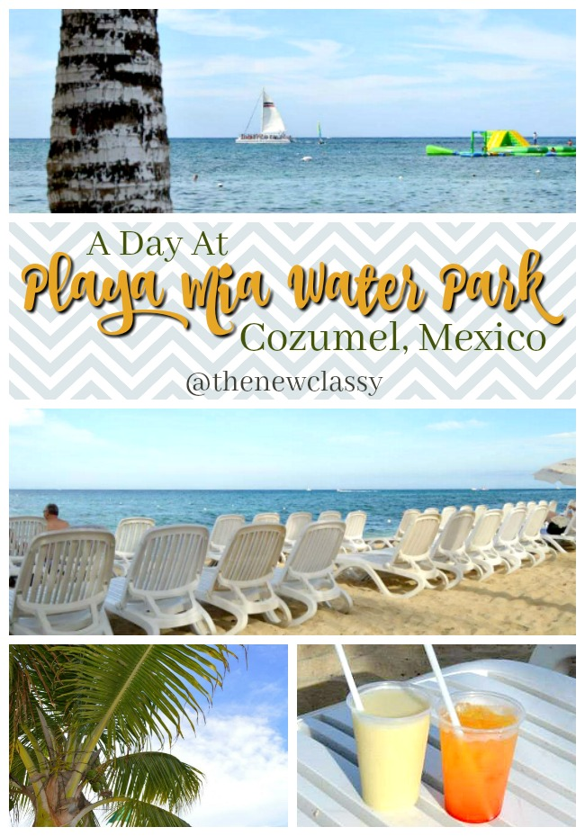A Day At Playa Mia Water Park In Cozumel, Mexico