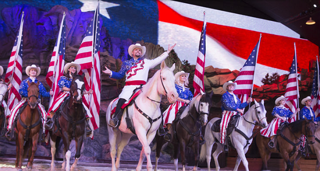Dixie Stampede's 30th Season Featuring Thundering Longhorns