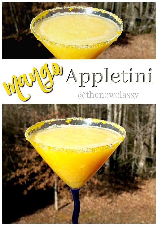 Mango Appletini Recipe Inspired By The Dominican Republic
