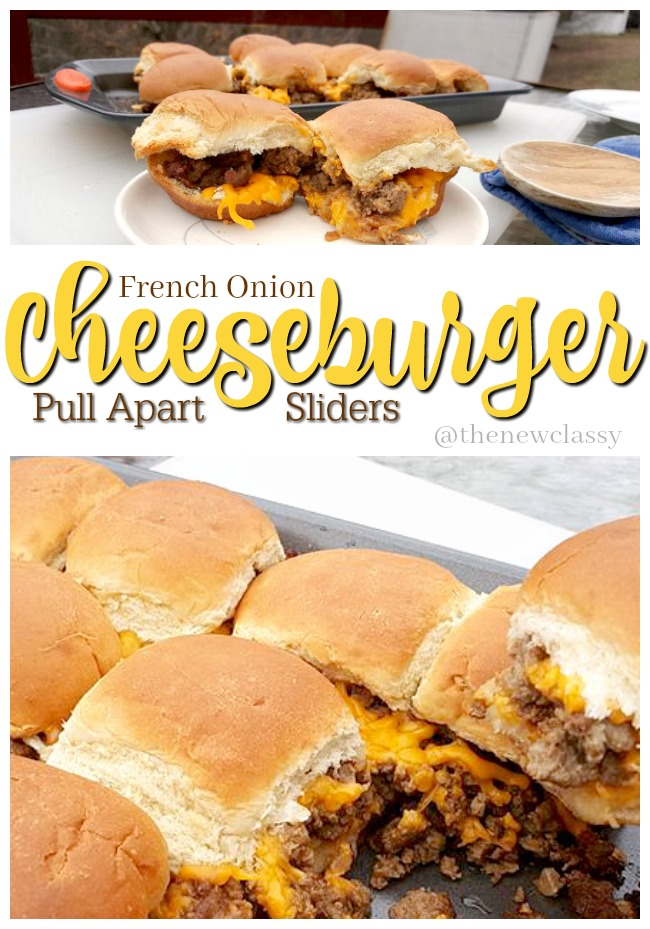 French Onion Cheeseburger Sliders Recipe #SwitchAndSave #ad #SaveALotInsiders