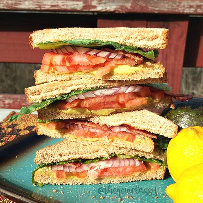 Diabetic Friendly Avocado BLT Recipe #sponsored