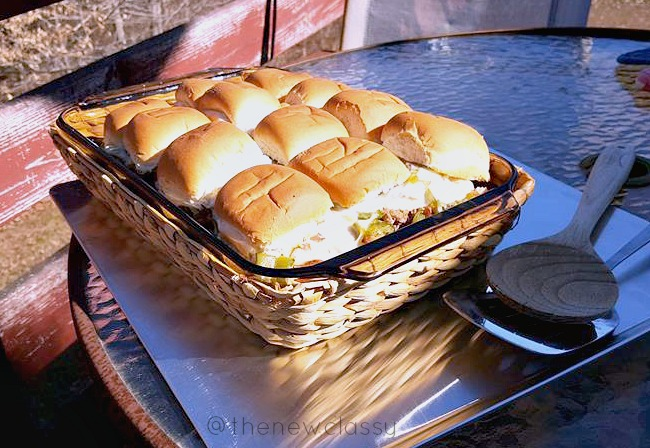 Philly Cheesesteak Sliders Recipe