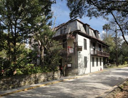 Historic St Francis Inn Survives Hurricane & Restoration