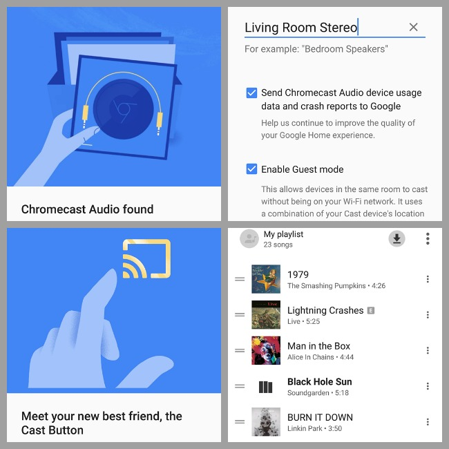 Google Chromecast Audio: Stream Music Wirelessly On Older Devices #ad