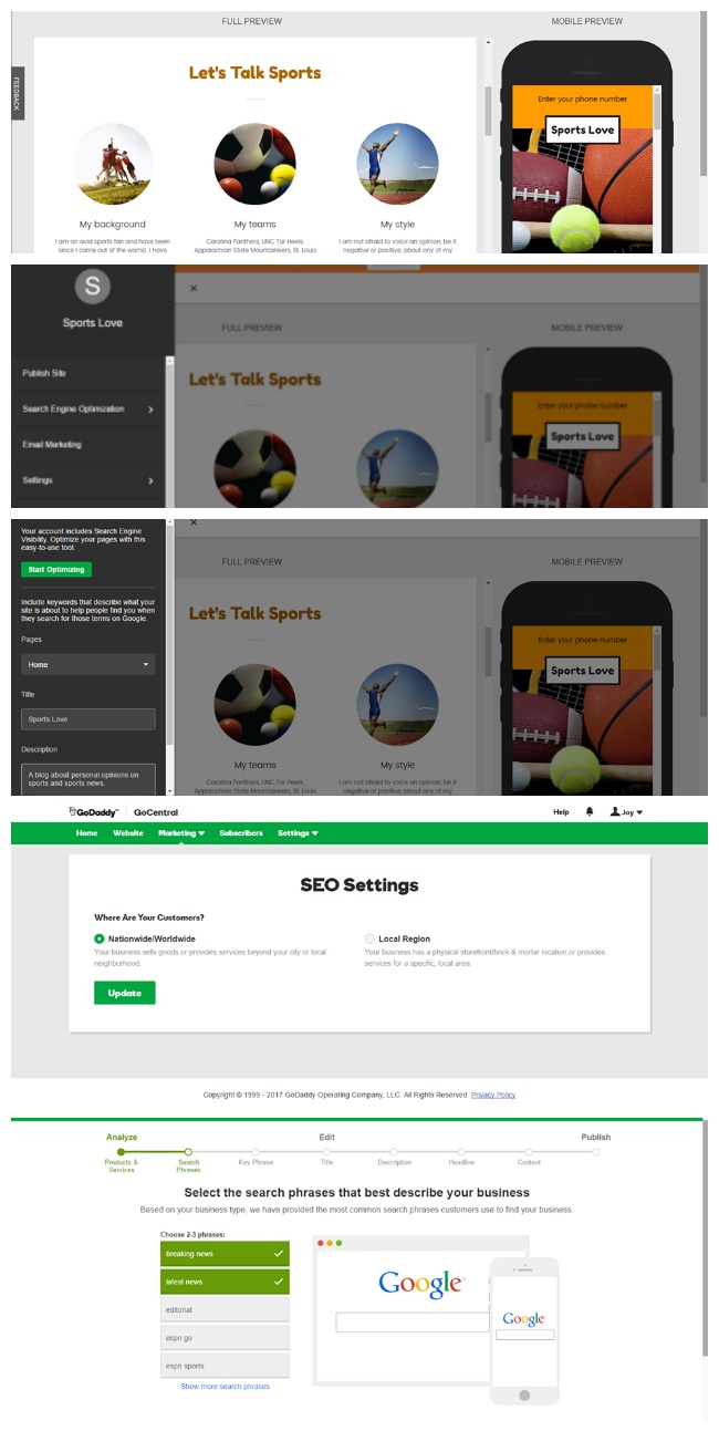 Building A Website With GoCentral By GoDaddy #sponsored