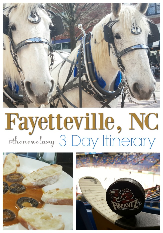 Check Out Our 3 Day Fayetteville Itinerary #VisitFayNC sponsored