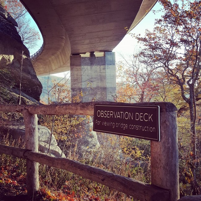 Iconic Linn Cove Viaduct To Be Closed Through 5/24 For Facelift #FindYourPark
